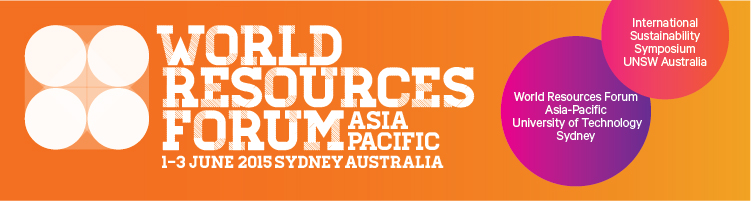 World Resources Forum Asia-Pacific 2015
